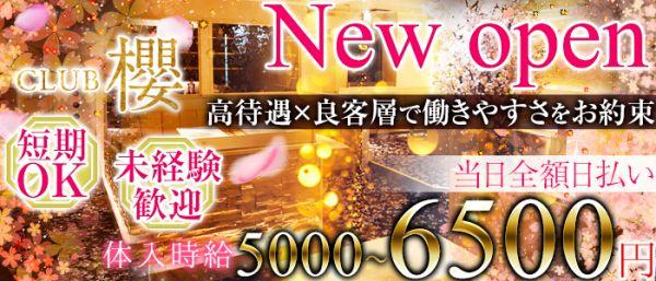 Club櫻[クラブ サクラ](八王子キャバクラ)のバイト求人・体験入店情報