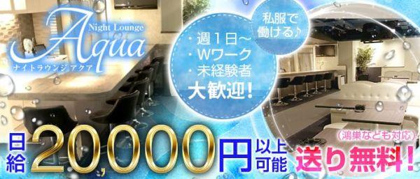 Night Lounge Aqua[ナイトラウンジ アクア](坂戸キャバクラ)のバイト求人・体験入店情報