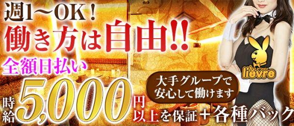 五反田liévre[リエーヴル](五反田キャバクラ)のバイト求人・体験入店情報