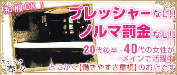 スナック春々[はるはる](歌舞伎町キャバクラ)のバイト求人・体験入店情報