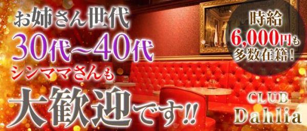 CLUB Dahlia[クラブ ダリア](藤沢キャバクラ)のバイト求人・体験入店情報