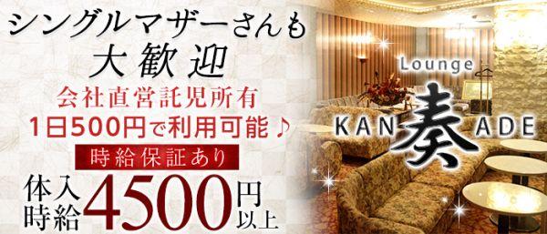 Lounge 奏[カナデ](藤枝キャバクラ)のバイト求人・体験入店情報