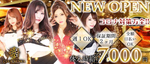 Club SENKA[センカ](千葉キャバクラ)のバイト求人・体験入店情報