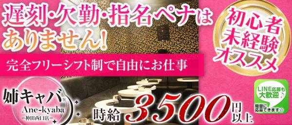 姉キャバ神田西口店(神田キャバクラ)のバイト求人・体験入店情報