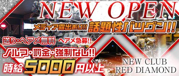 New club RED DIAMOND[レッドダイヤモンド](柏キャバクラ)のバイト求人・体験入店情報