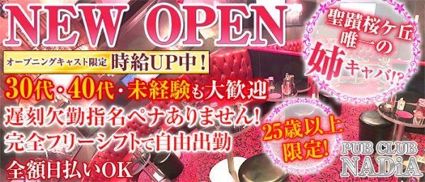 PUB CLUB NADiA[ナディア](立川キャバクラ)のバイト求人・体験入店情報