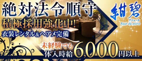 紺碧~Azur du secret~(アジュール)(歌舞伎町キャバクラ)のバイト求人・体験入店情報