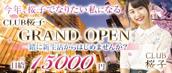CLUB 桜子(さくらこ)【公式求人・体入情報】 銀座ニュークラブ バナー