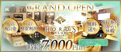 CLUB HORUS MINAMI(ホルスミナミ)【公式求人情報】(難波ニュークラブ)の求人・体験入店情報