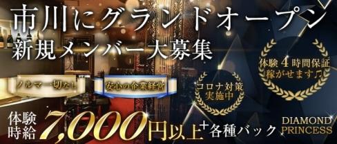 DIAMOND PRINCESS(ダイヤモンドプリンセス)【公式求人情報】(西船橋キャバクラ)の求人・バイト・体験入店情報