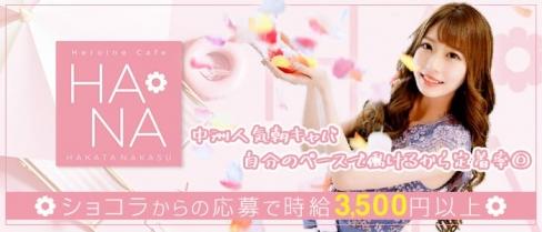 Heroine Cafe HANA (ヒロインカフェ ハナ)【公式求人情報】(中洲昼キャバ・朝キャバ)の求人・バイト・体験入店情報