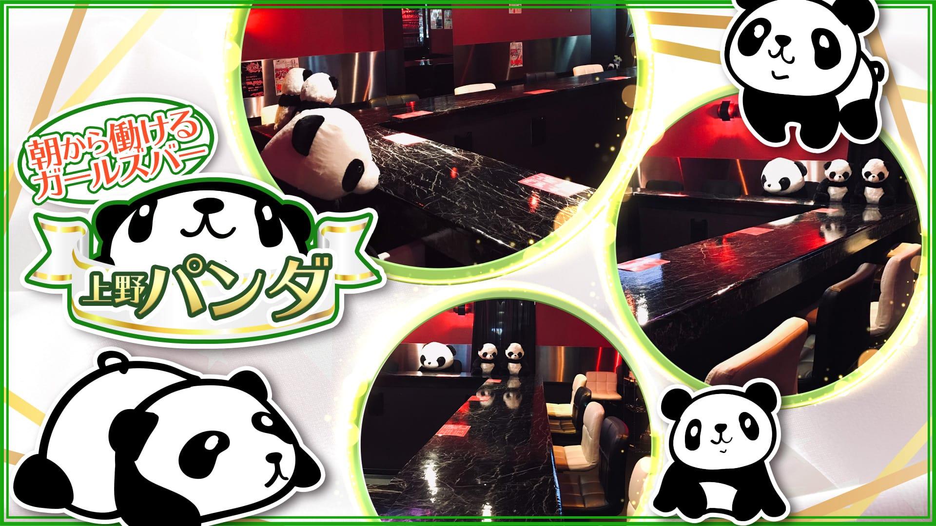 朝から働けるガールズバー 上野パンダ 上野ガールズバー TOP画像