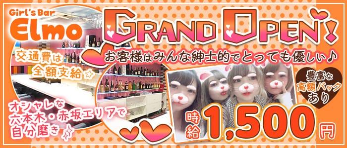 コンセプトcafe&bar エルモ 六本木ガールズバー バナー