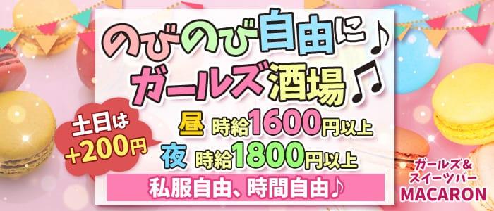 【昼・夜】ガールズ&スイーツバーMACARON(マカロン) 藤沢ガールズバー バナー