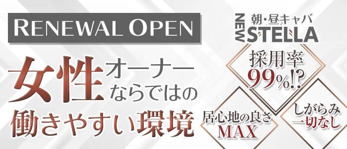 【朝・昼】NEW STELLA(ニューステラ) 中洲昼キャバ・朝キャバ バナー