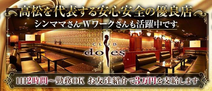 ドレス高松 高松キャバクラ バナー
