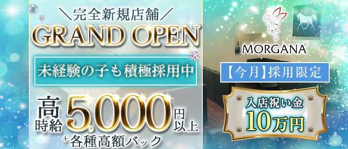 【会員制】Morgana(モルガナ)【公式求人・体入情報】 三宮ラウンジ バナー