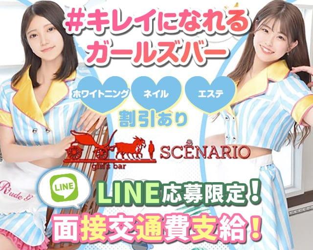 【24時間】Girls Bar SCENARIO(シナリオ)【朝・昼・夜】【公式求人・体入情報】 新宿ガールズバー TOP画像