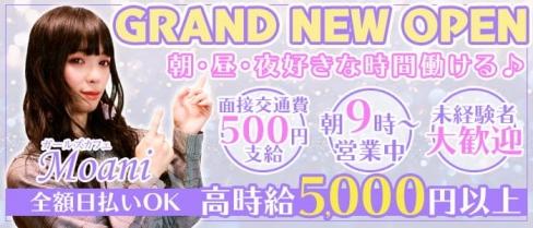 Girls cafe Moani(モアニ)【公式求人・体入情報】(府中ガールズラウンジ)の求人・バイト・体験入店情報
