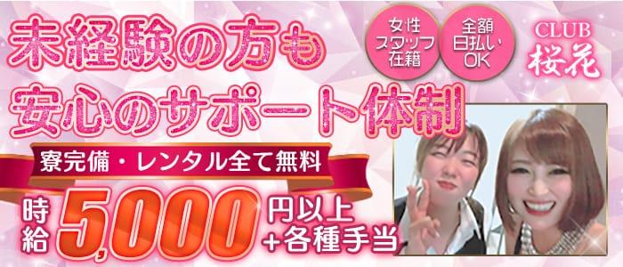 CLUB 桜花 (おうか) 【公式求人・体入情報】 国分町キャバクラ バナー