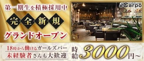 GirlsBar&Lounge Carpo(カルポ)【公式求人・体入情報】(上野ガールズバー)の求人・体験入店情報