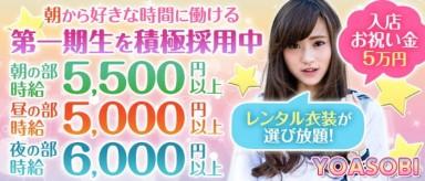 YOASOBI【公式求人・体入情報】(新宿ガールズバー)の求人・バイト・体験入店情報