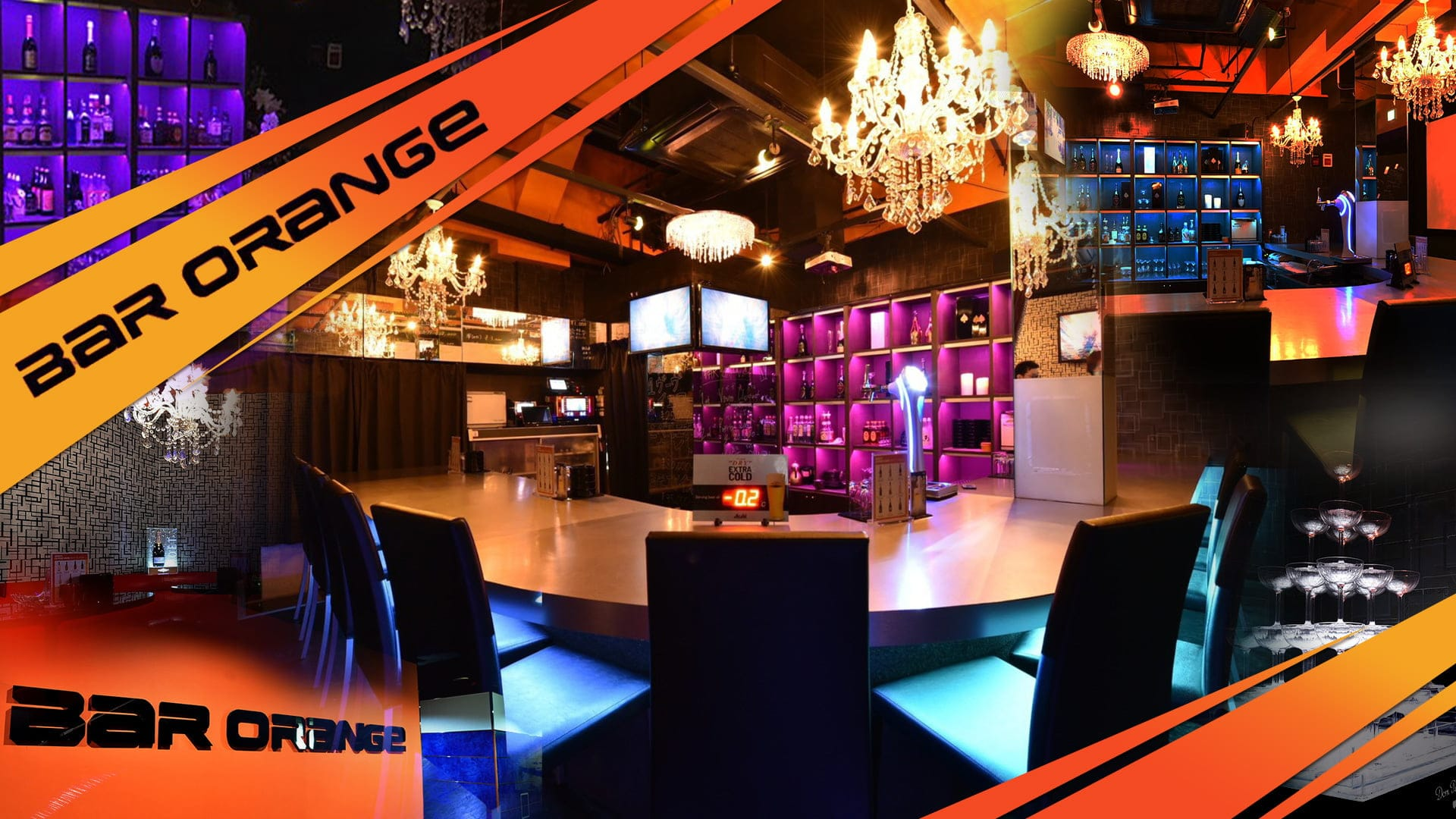 BAR ORANGE(バーオレンジ)【公式求人・体入情報】 中洲ガールズバー TOP画像