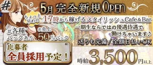 Cafe&Bar #(ハッシュタグ)【公式求人・体入情報】(錦糸町ガールズバー)の求人・体験入店情報