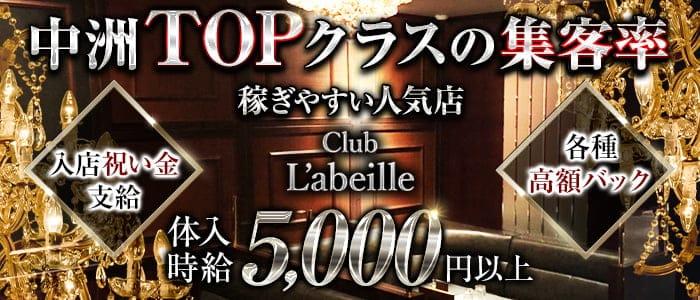 Club L'ABEILLE(ラベイユ)【公式求人・体入情報】 中洲キャバクラ バナー