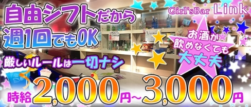 Girl's Bar Link(リンク)【公式求人情報】(本八幡ガールズバー)の求人・体験入店情報