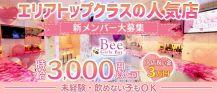 Girls Bar  Bee(ビー)【公式求人・体入情報】 バナー