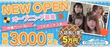 Girls Bar Cinnamon (シナモン)【公式求人・体入情報】(関内ガールズバー)の求人・バイト・体験入店情報