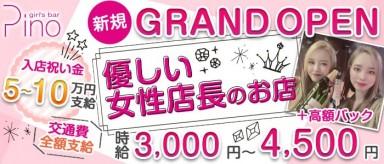 GirlsBar Pino(ガールズバー ピノ)【公式求人・体入情報】(関内ガールズバー)の求人・バイト・体験入店情報
