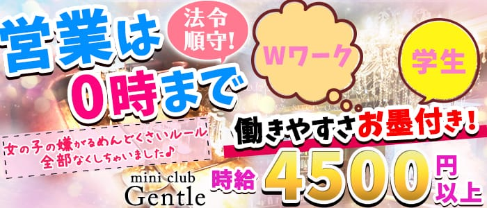mini club Gentle(ジェントル) 柏キャバクラ バナー
