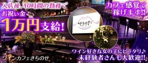 ワインカフェきちのせ【公式求人情報】(すすきのスナック)の求人・バイト・体験入店情報