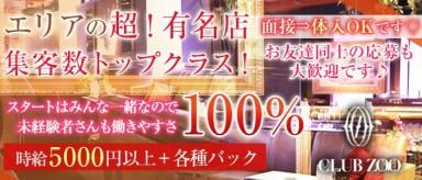 ZOO-ズー神戸-【公式】(三宮キャバクラ)の求人・バイト・体験入店情報