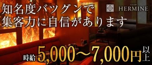 HERMINE-エルミネ神戸-(三宮キャバクラ)の求人・バイト・体験入店情報