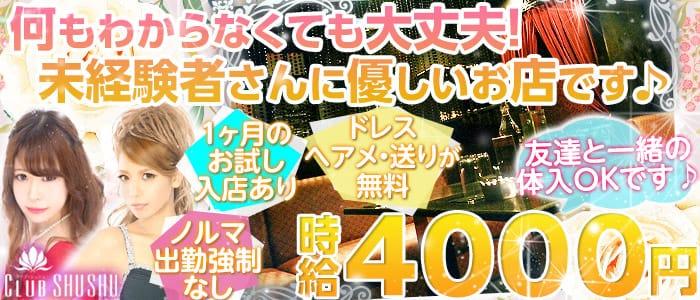 SHU-SHU(シュシュ) 津田沼キャバクラ バナー