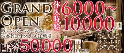 渋谷小町【公式求人情報】(渋谷キャバクラ)の求人・バイト・体験入店情報