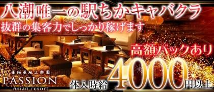 亜細亜地上楽園 PASSION(パッション)【公式求人情報】(八潮キャバクラ)の求人・バイト・体験入店情報