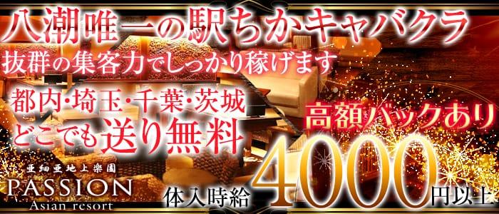 亜細亜地上楽園 PASSION(パッション) 八潮キャバクラ バナー