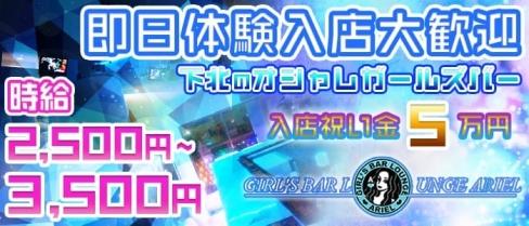 GIRL'S BAR ARIEL 〜アリエル〜【公式求人情報】(下北沢ガールズバー)の求人・バイト・体験入店情報