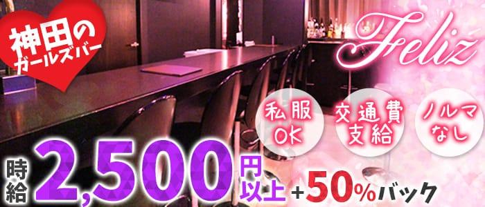Bar Dining Feliz~フェリス~ 神田ガールズバー バナー