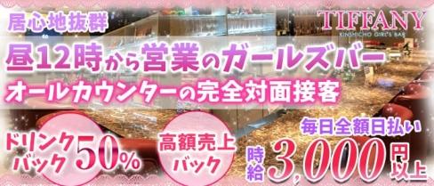 TIFFANY(ティファニー)【公式求人情報】(錦糸町ガールズバー)の求人・体験入店情報