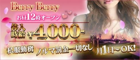 BerryBerry(ベリーベリー)【公式求人情報】(蒲田昼キャバ・朝キャバ)の求人・バイト・体験入店情報