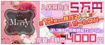 GirlsBar Merry~メリー~【公式求人情報】 バナー