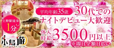 美姉ラウンジ 小鳥遊(たかなし)【公式求人情報】(上野熟女キャバクラ)の求人・バイト・体験入店情報