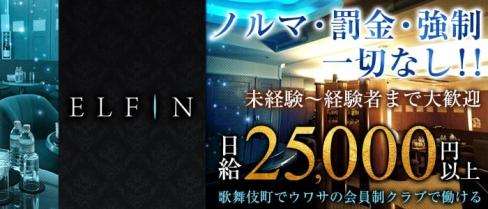 CLUB ELFIN(エルフィン)【公式求人情報】(新宿クラブ)の求人・バイト・体験入店情報
