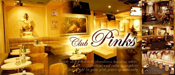 Club pinks~クラブピンクス~ 新横浜キャバクラ バナー