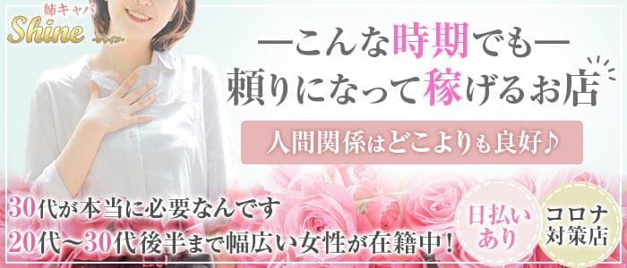 姉キャバ Shine(シャイン)【公式求人・体入情報】 北千住姉キャバ・半熟キャバ バナー